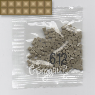 Стразы для алмазной вышивки DMC 612 квадратные 1,4 г