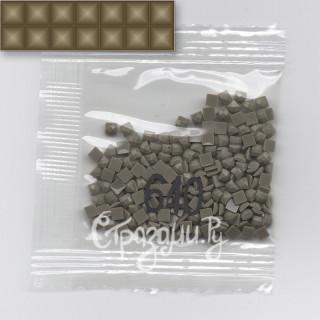 Стразы для алмазной вышивки DMC 640 квадратные 1,4 г