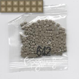 Стразы для алмазной вышивки DMC 642 квадратные 200-220 шт