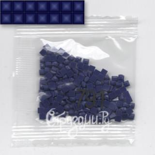 Стразы для алмазной вышивки DMC 791 квадратные 200-220 шт