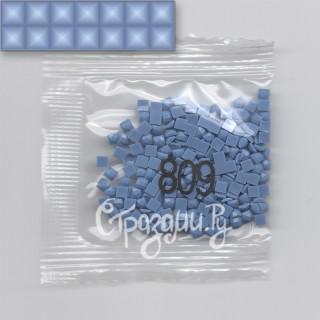 Стразы для алмазной вышивки DMC 809 квадратные 200-220 шт