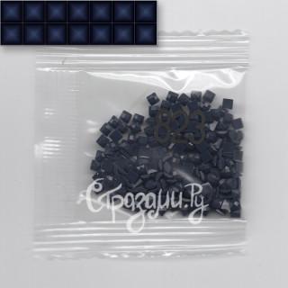 Стразы для алмазной вышивки DMC 823 квадратные 1,4 г