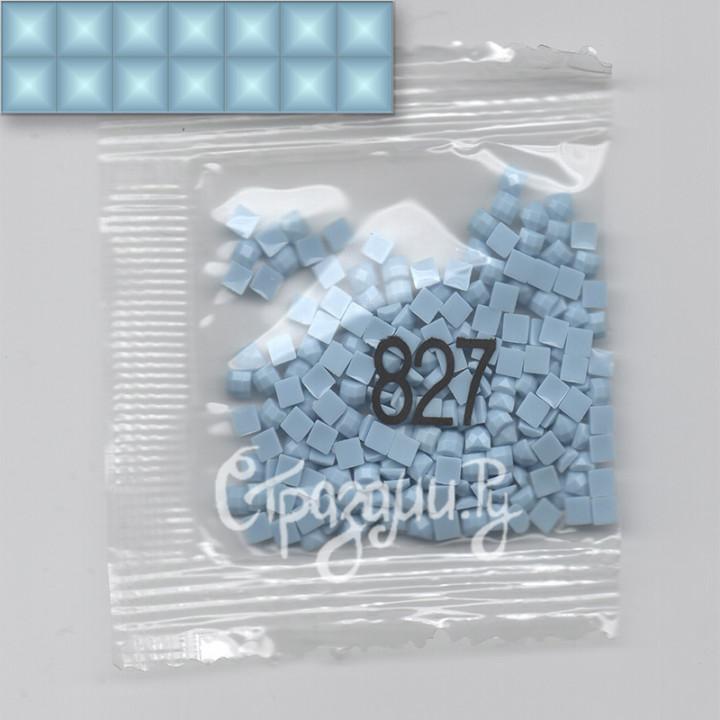 Стразы для алмазной вышивки DMC 827 квадратные 1,4 г