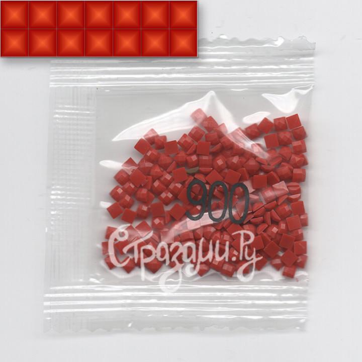Стразы для алмазной вышивки DMC 900 квадратные 200-220 шт