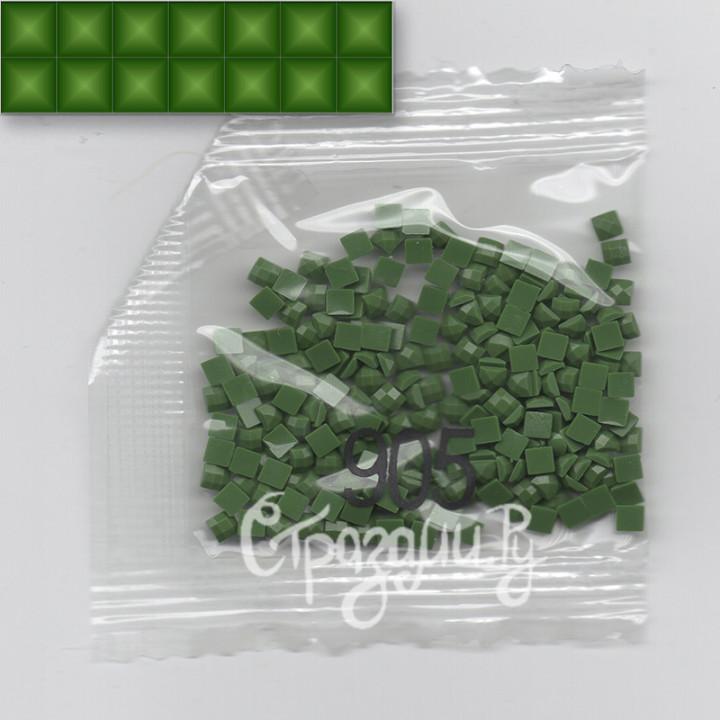 Стразы для алмазной вышивки DMC 905 квадратные 1,4 г