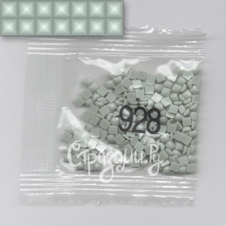 Стразы для алмазной вышивки DMC 928 квадратные 1,4 г