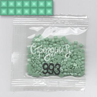 Стразы для алмазной вышивки DMC 993 квадратные 1,4 г
