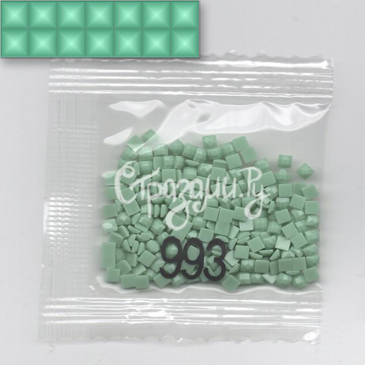 Стразы для алмазной вышивки DMC 993 квадратные 200-220 шт